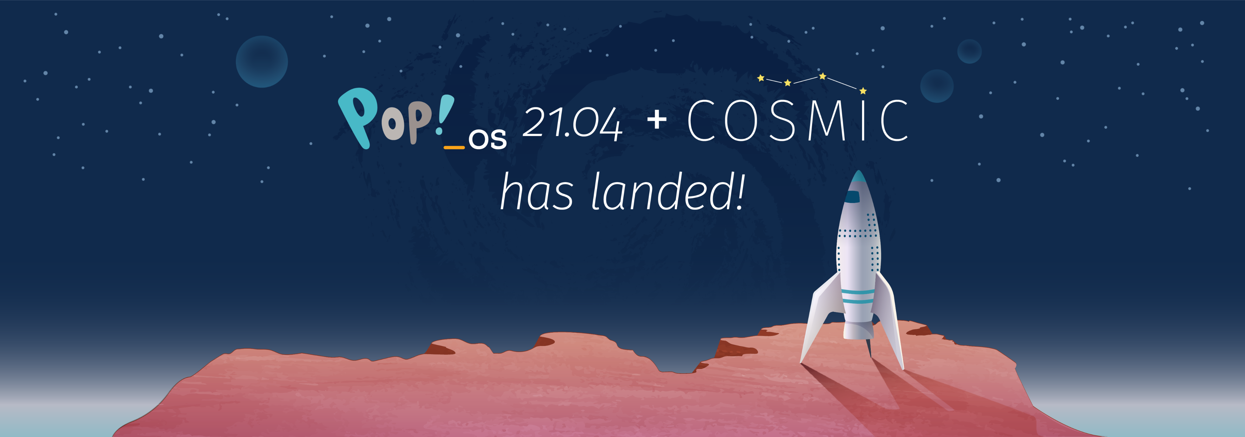 Pop OS with COSMIC has landed!