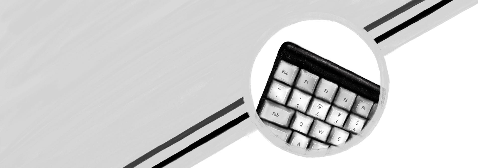 Launch keyboard background hero