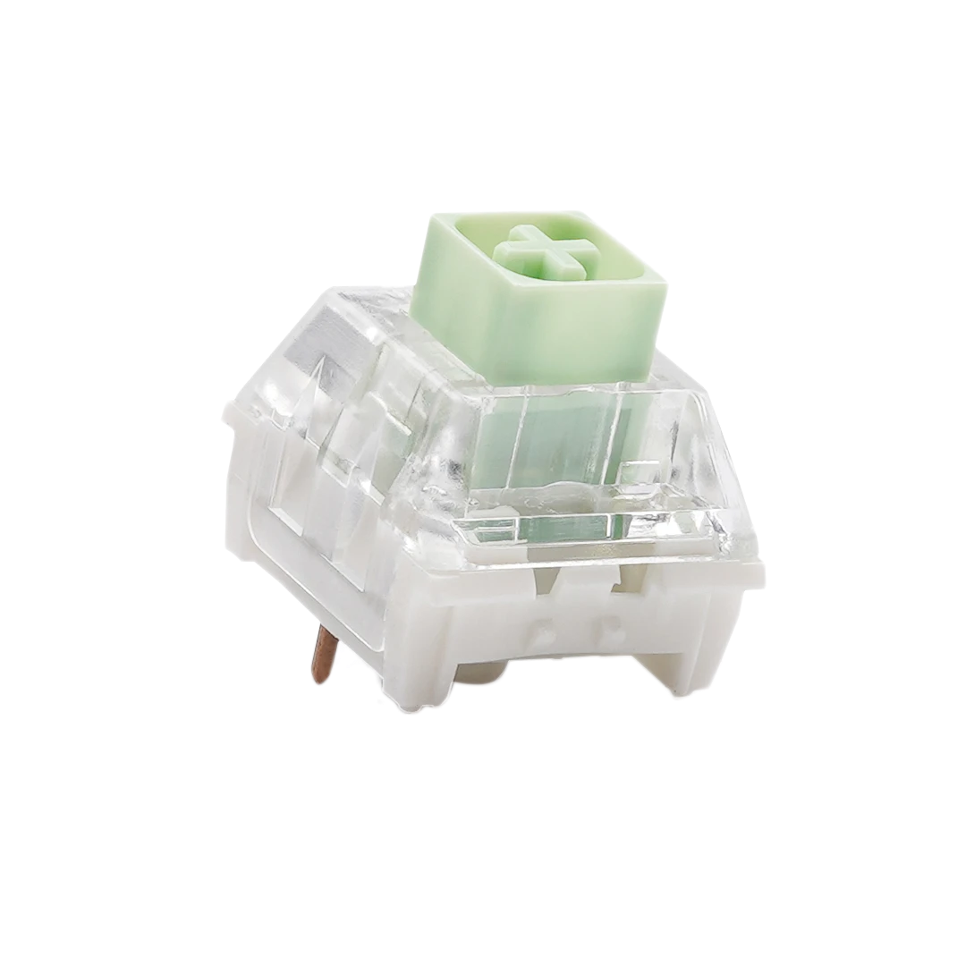 Kailh Box Jade Switch with green top.