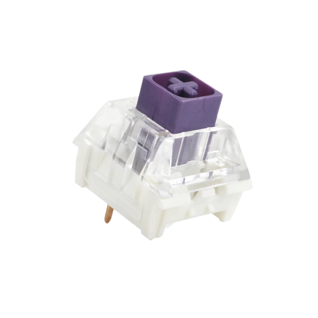 Kailh Box Royal Switch with purple top.