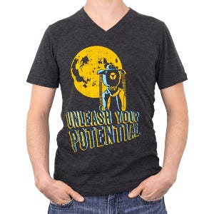 Unleash Your Potential T_Shirt - Men's) thumbnail