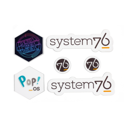 System76 + Pop!_OS Stickers) thumbnail