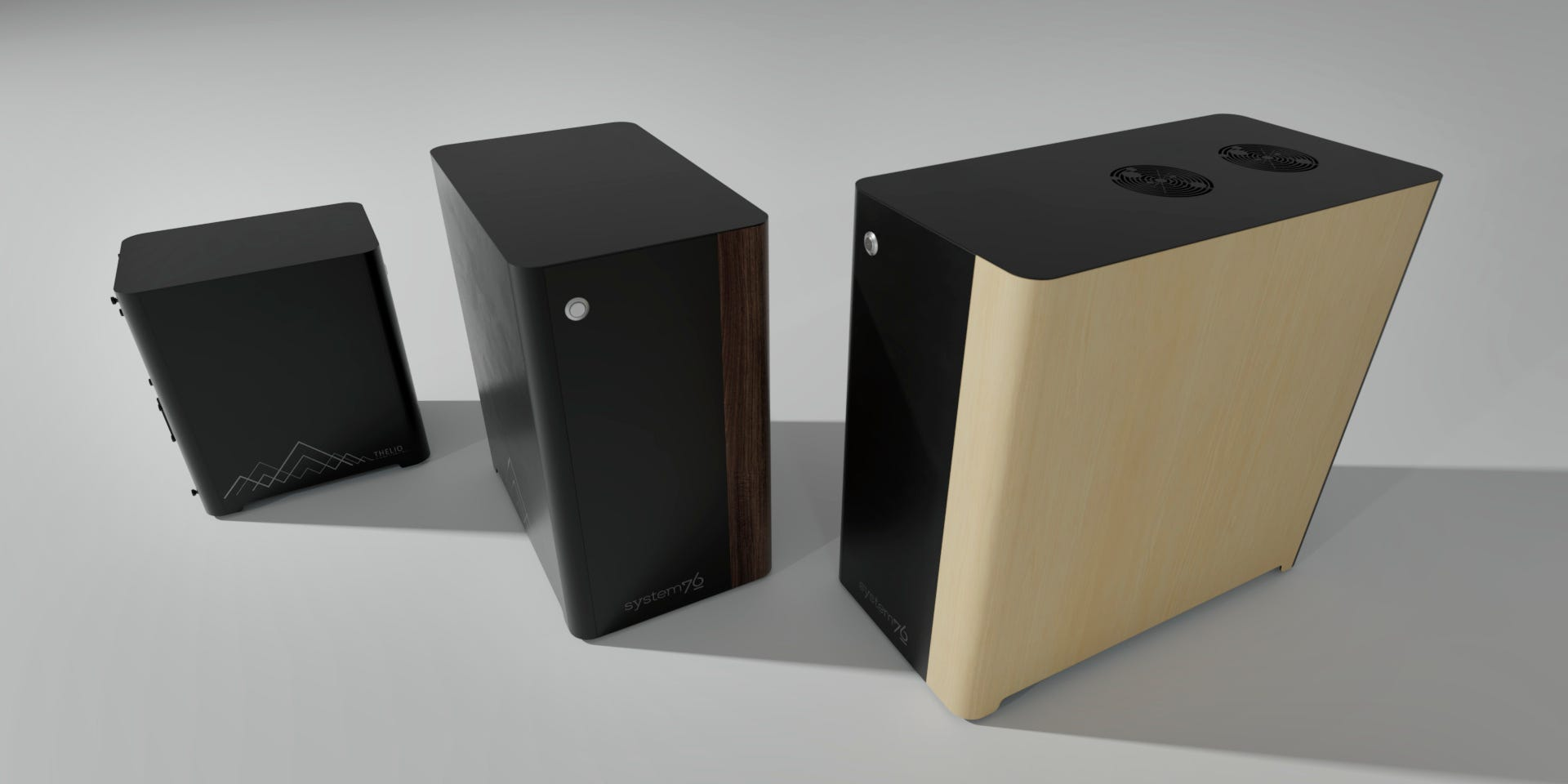 Side by Side Thelio systems