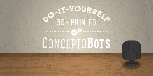Do-It-Yourself 3D-Printed ConceptoBots