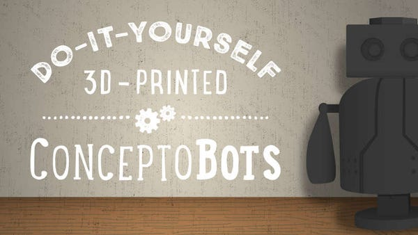 3D Printing Robots with Kids