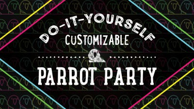 Party Parrot Mask